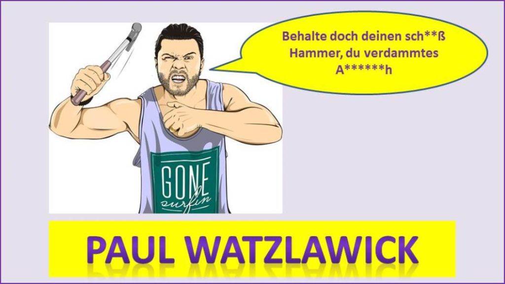Paul Watzlawick - Hammer